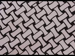 How To Draw Patterns Best How To Draw Zentangle Patterns Basket Weave YouTube