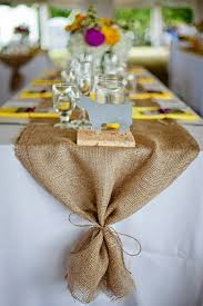 ... burlap rustic wedding ideas - burlap wedding table runners