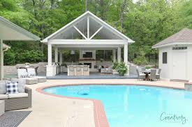 pool house. Exellent Pool Outdoor Kitchen And Pool House Pavilion Project Throughout Pool House T