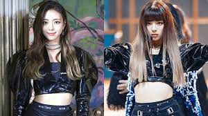 ITZY's Yuna Without Bangs Vs With Bangs
