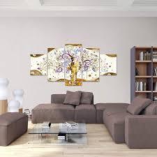 003051b Quadro Gustav Klimt Albero della vita 200 x 100 cm XXL Immagini  Murale Stampa su Tela Decorazione da Parete Pronte per lapplicazione Arte  Stampe e quadri