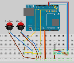arduino ir blaster finished device schematic