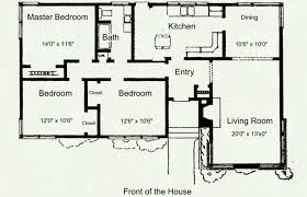 simple bedroom house floor plans full size philippines pdf