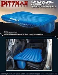 Back Seat Bed Amazoncom Airbedz Ppi Carmat Rear Seat Air Mattress For Cars