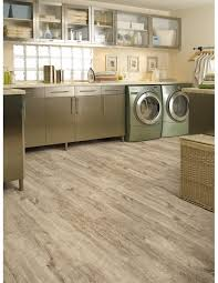 Kitchen Floors Vinyl Burnished Concrete Camaro Luxury Vinyl Tile Flooring Featured In