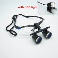 Cheap Dental Loupes With Light Us 232 05 9 Off High Quality Ultra Light 3 0x Medical Magnifying Glass Surgical Loupes Dental Loupes Medical Loupes With Led Light Fd 501 G 1 In