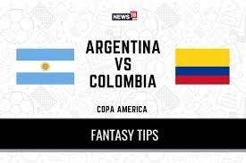 Copa America 2021 Argentina vs Colombia ...