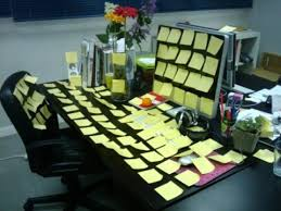 fun things for the office. Walk Sideways To The Photocopier. Fun-at-work-sticky-notes Fun Things For Office