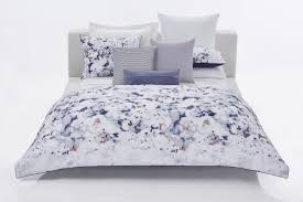 hugo boss watercolour floral duvet cover set