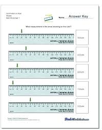 free printable measurement worksheets