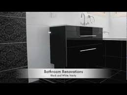 Small Picture Bathroom Renovations Brisbane Black and White Bathroom Ideas