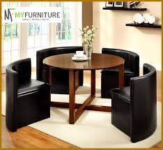 Hideaway Table And Chairs Best Of Round Hideaway Dining Set