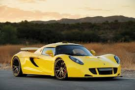 Small Picture Hennessey Venom GT Quickest modified production car Twin