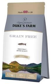 Корм для собак <b>DUKE'S</b> FARM форель 12 кг — купить по ...