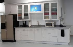 image of top glass kitchen cabinet doors