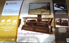 costco furniture tv stand. Bayside Furniture TV Stand Costco FrugalHotspot Flat Panel Intended Tv