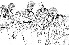 zombie coloring page image of walking dead zombie coloring pages scary zombie colouring pages