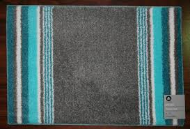 20x30 bathroom bath rug mat washable mats rugs grey gray