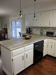 Cabinets Adorable Kitchen Interior Using Beautiful Painting Formica