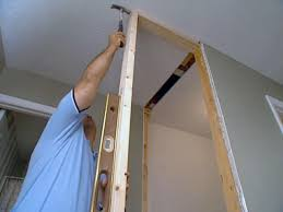 How to frame a closet Corner How To Widen Closet Diy Network How To Widen Closet Howtos Diy