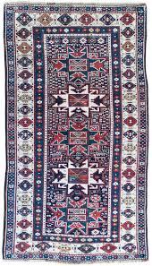 antique kuba rug caucasian