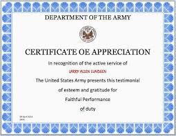 Certificate Of Appreciation Template For Word Adorable Certificate Of Appreciation Pdf Download 48 Inspirational