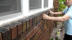 Loose Brick Veneer WallMOV YouTube - Exterior brick repair