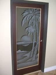 door glass inserts palm sunset 2d sans soucie also