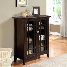 media cabinet with glass doors living room small media cabinet glass doors info pertaining to with