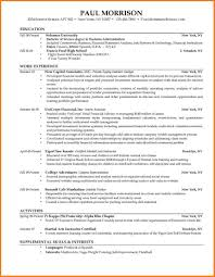 8 College Graduate Resume Examples Ledger Review