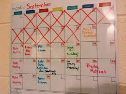 How To Stay Organized In College Life In Orange And Blue Hope