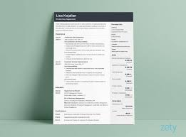 Modern Formatted Resume Templates Cv In Tabular Form Resume Format Templates Wisestep Perfect