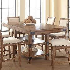 tap the thumbnail bellow to see gallery of keston white 5 pc square counter height dining room in table design
