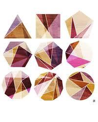 Geometric Pattern in Geometric Shapes, Shape Inception, Vibrant ...