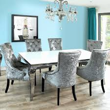 black upholstered dining room chairs elegant modern black dining