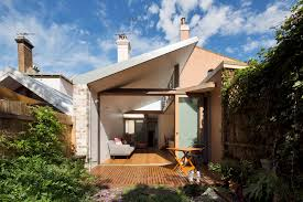 A Narrow House Renovation In Sydney For Two Retired Teachers - Exterior house renovation