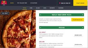 marco s pizza menu lists and its s