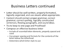 Word Chapter 3 Creating A Business Letter With A Letterhead And