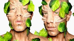 tree inspired makeup