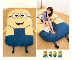 Giant Plush Cartoon Bed