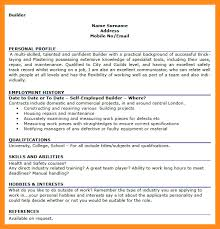 Interest And Hobbies For Resume Examples