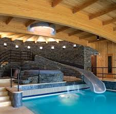 cool bedrooms with water slides. Brilliant Slides Indoor Pool And Hot Tub  Want Beachy Living Room  Home Garden Design  Ideas Outdoor Lounge Beautiful Outdoor Space Throughout Cool Bedrooms With Water Slides L