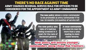 Army Promotions Army Brings In New Policy Age Wont Be