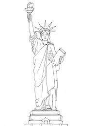 Small Picture Free statue of liberty coloring pages for kids 2 ColoringStar