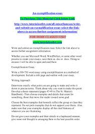 what is an exemplification essay dietary worker cover letter exemplification essay outline inspirational essays page 1 exemplification essay outlinehtml