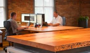 reclaimed wood office desk. The Reclaimed Wood Process: Giving Old New Life | Niche Interiors Office Desk D