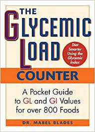 The Glycemic Load Counter A Pocket Guide To Gl And Gi
