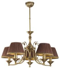chandelier 5 arms casamia fabric