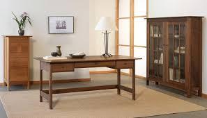 modern shaker furniture. Modern Shaker Campaign Desk Office Set (2) Furniture