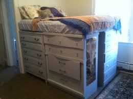 diy recycled captain s bed